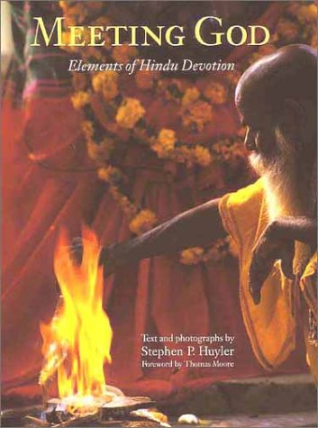 Meeting God Elements of Hindu Devotion  2002 9780300089059 Front Cover