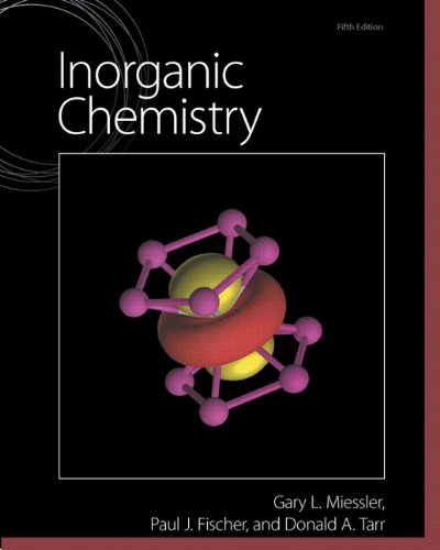 Inorganic Chemistry  5th 2014 9780321811059 Front Cover
