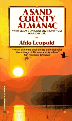 Sand County Almanac   1966 9780345345059 Front Cover