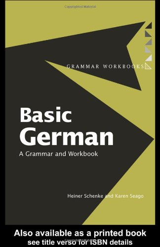 Basic German Grammar and Workbook  1996 edition cover