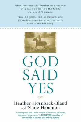 God Said Yes  N/A 9780425225059 Front Cover