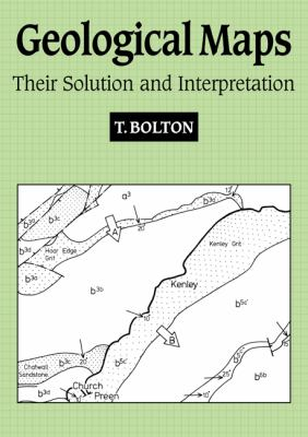 Geological Maps Their Solution and Interpretation  1989 edition cover