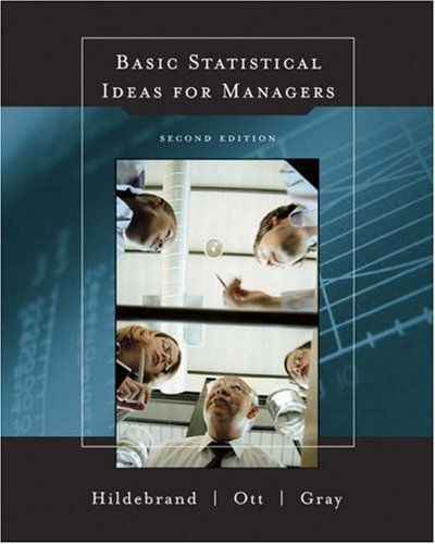 Basic Statistical Ideas for Managers  2nd 2005 (Revised) edition cover
