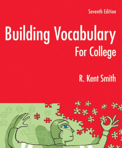 Building Vocabulary for College  7th 2009 9780618979059 Front Cover