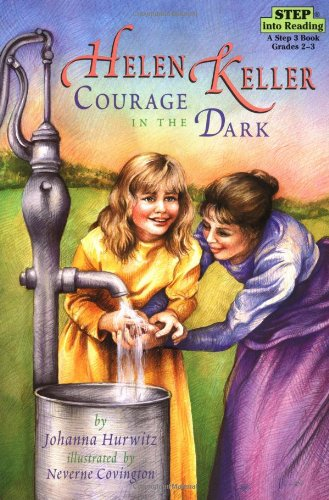 Helen Keller Courage in the Dark  2011 edition cover
