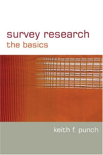 Survey Research The Basics  2003 edition cover