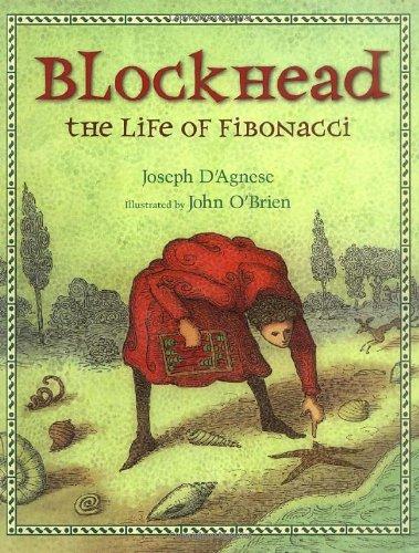 Blockhead The Life of Fibonacci  2010 edition cover
