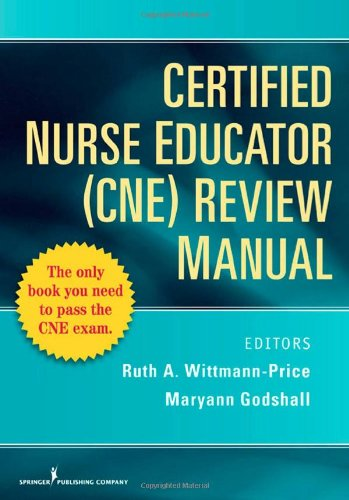 CNE Review Manual   2009 edition cover