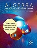 Cengage Advantage Books: Algebra Beginning and Intermediate 3rd 2013 edition cover