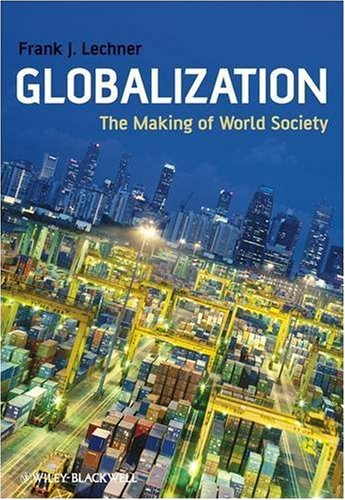 Globalization The Making of World Society  2009 edition cover