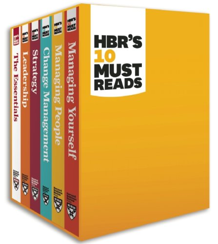 HBR's Must Reads Boxed Set (6 Books)  N/A edition cover