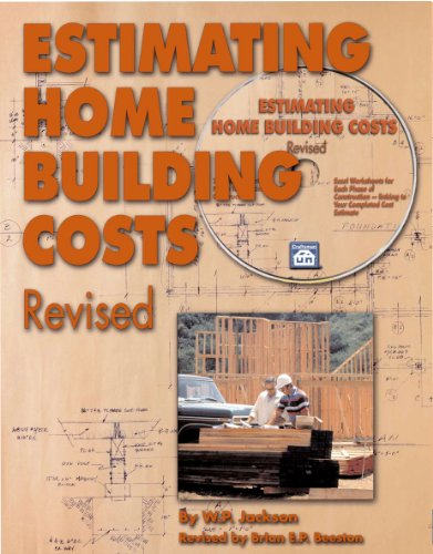 Estimating Home Building Costs Revised  2008 9781572182059 Front Cover