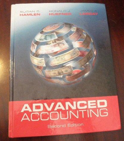 Advanced Accounting  2nd 2013 edition cover