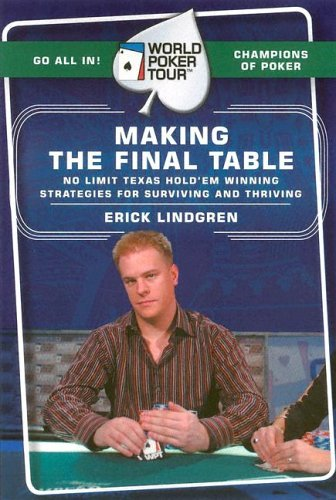 World Poker Tour(TM): Making the Final Table   2005 9780060763060 Front Cover