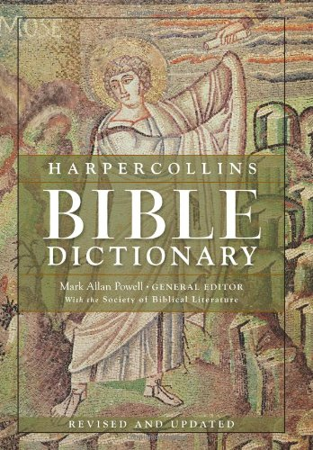Harpercollins Bible Dictionary  3rd 2011 (Revised) edition cover