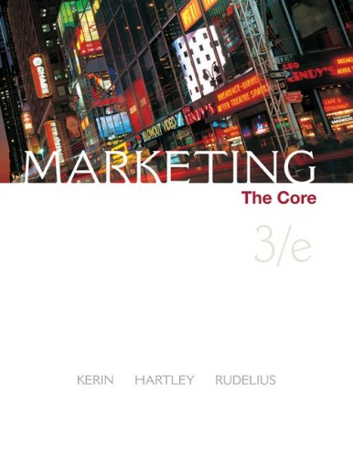 Marketing The Core 3rd 2009 9780073381060 Front Cover