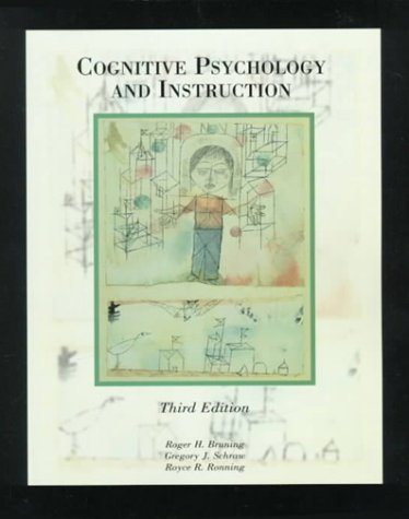 Cognitive Psychology and Instruction  3rd 1999 9780137166060 Front Cover