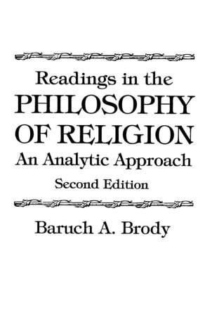 Readings in the Philosophy of Religion An Analytic Approach 2nd 1992 edition cover