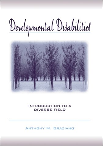 Developmental Disabilities Introduction to a Diverse Field  2002 edition cover