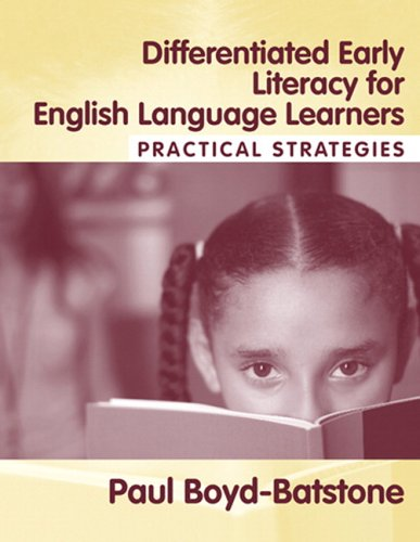 Differentiated Early Literacy for English Language Learners Practical Strategies  2006 edition cover