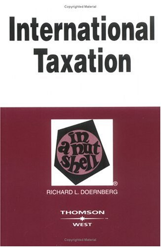 International Taxation in a Nutshell  6th 2004 (Revised) edition cover
