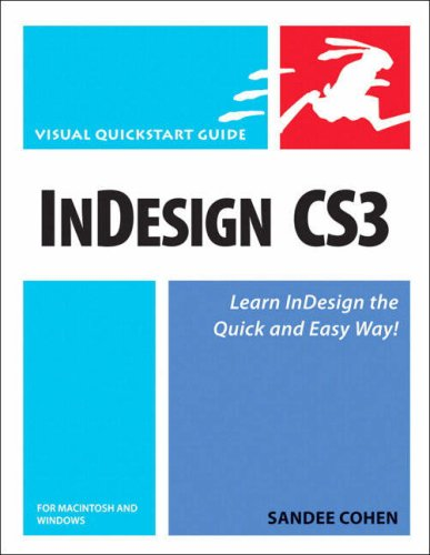 InDesign CS3 for Macintosh and Windows   2008 edition cover