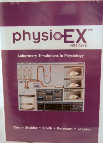 PhysioEx 8. 0 CD-ROM   2009 edition cover
