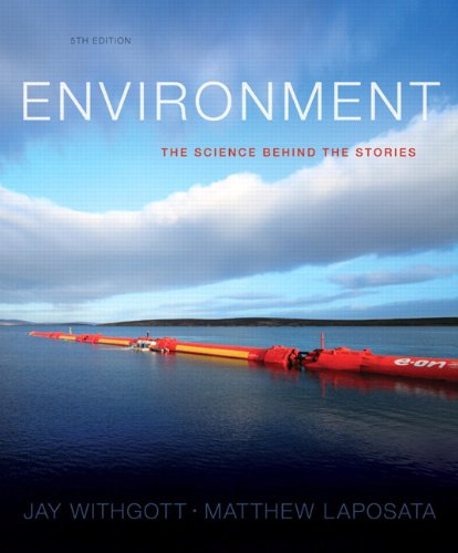 Environment + Masteringenvironmentalscience With Etext Access Card Package: The Science Behind the Stories  2013 edition cover
