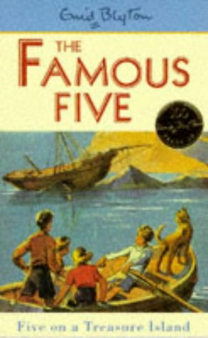Five on a Treasure Island (Famous Five Classics) N/A edition cover