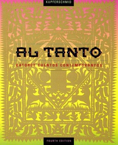 Al Tanto Catorce Cuentos Contempor�neos 4th 1999 edition cover