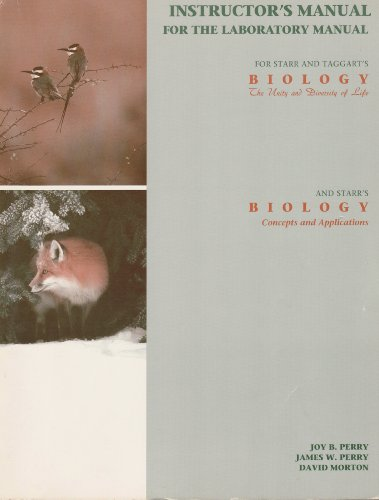 Biology Exploring Life 2nd 1994 (Lab Manual) 9780471598060 Front Cover