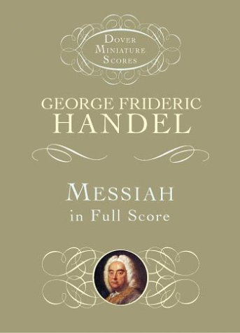 Messiah in Full Score  N/A edition cover