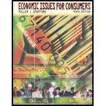 Economic Issues for Consumers  10th 2004 edition cover
