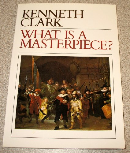 What Is a Masterpiece? Reprint  9780500272060 Front Cover