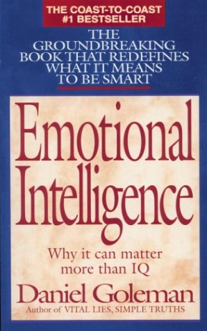 Emotional Intelligence Why It Can Matter More Than IQ  1995 edition cover