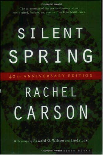 Silent Spring  40th 2002 edition cover