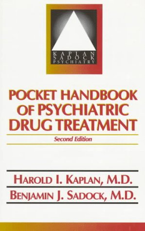 Pocket Handbook of Psychiatric Drug Treatment  2nd 1996 (Revised) 9780683180060 Front Cover