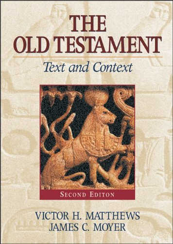 Old Testament: Text and Context 2nd edition cover