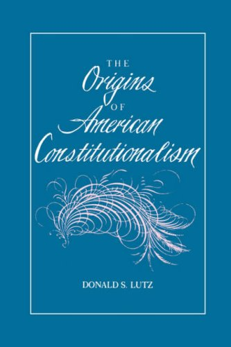 Origins of American Constitutionalism  N/A 9780807115060 Front Cover