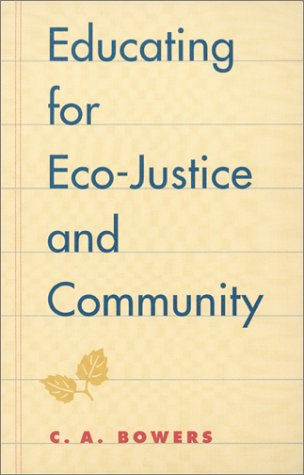 Educating for Eco-Justice and Community   2001 edition cover