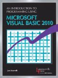 Introduction to Programming Using Microsoft Visual Basic 2010   2012 edition cover