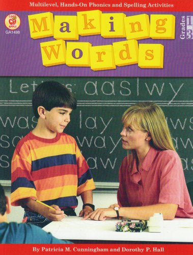 Making Words Multilevel, Hands-On Phonics and Spelling Activities  1994 edition cover
