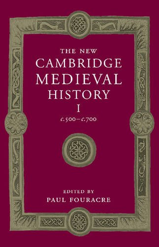 New Cambridge Medieval History: Volume 1, C. 500-C. 700   2015 9781107449060 Front Cover
