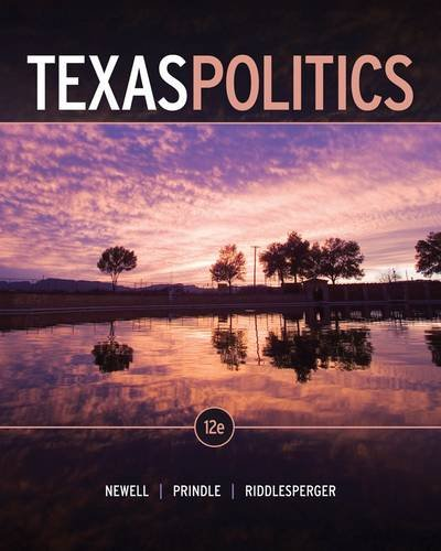 Texas Politics  12th 2013 edition cover