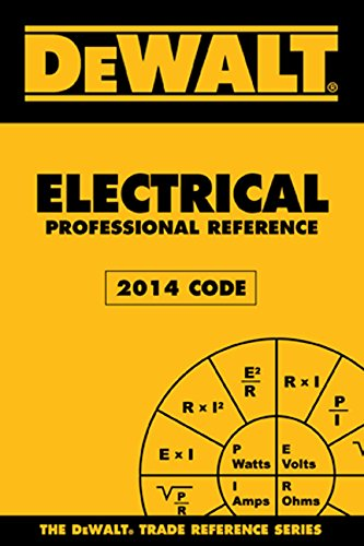 Dewalt Electrical Professional Reference 2014:   2015 edition cover