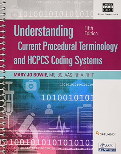 Understanding Procedural Coding: A Worktext  2016 9781305647060 Front Cover