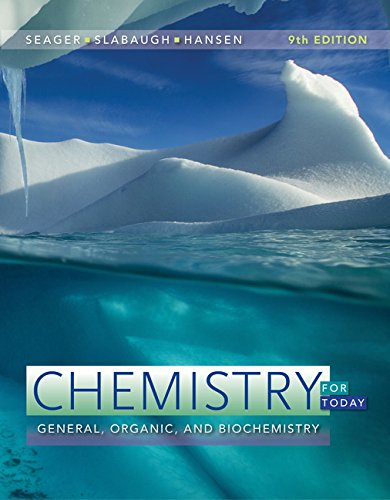 Chemistry for Today: General, Organic, and Biochemistry  2017 9781305960060 Front Cover
