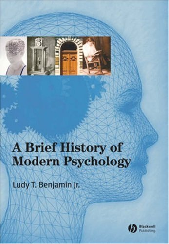 Brief History of Modern Psychology   2006 edition cover