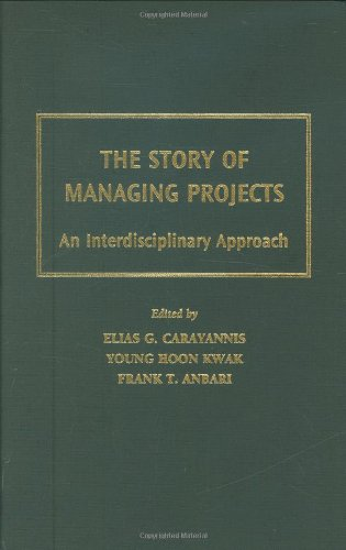 Story of Managing Projects An Interdisciplinary Approach  2004 edition cover
