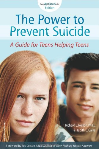 Power to Prevent Suicide A Guide for Teens Helping Teens 2nd 2007 edition cover